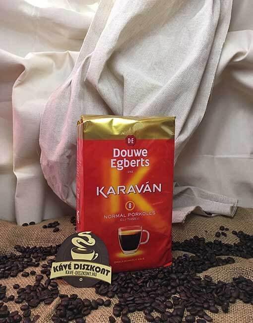 Douwe Egberts Karaván őrölt