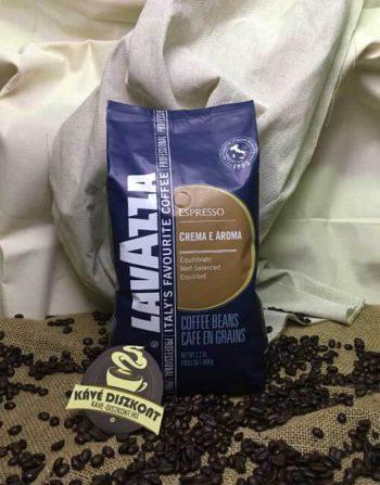 Lavazza Crema E Aroma Blue szemes kávé 1 Kg