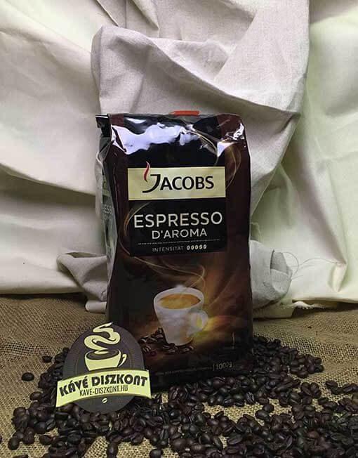 Jacobs D'aroma Espresso szemes kávé 1 kg