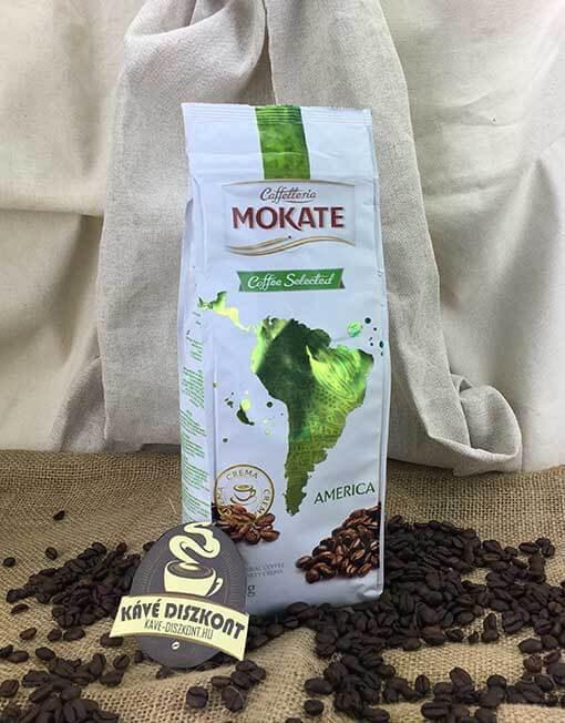 Caffelleria Mokate America szemes kávé 500 g