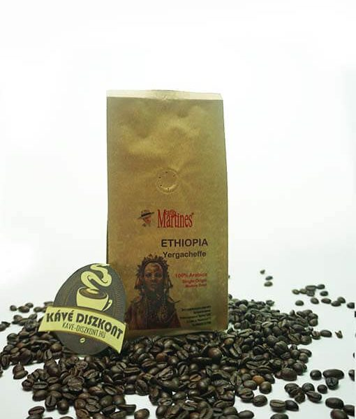 Martines Single Origin - Ethiopia Yergacheffe 200 g szemes kávé