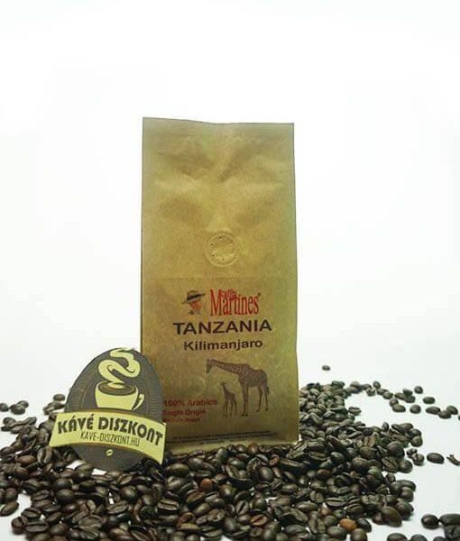 Martines Single Origin - Tanzania Kilimanjaro 200 g szemes kávé