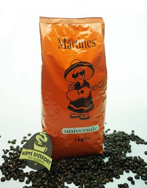 The variety used coffee has been mixed in advance and roasted all together for achievement of fuller bouquet of flavors. Triple separated. Suitable for vending machines. 90% Robusta and 10% Arabica