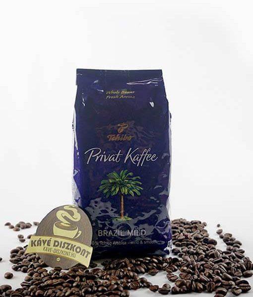 Tchibo Privat Kaffe Brazil Mild szemes kávé 500 g