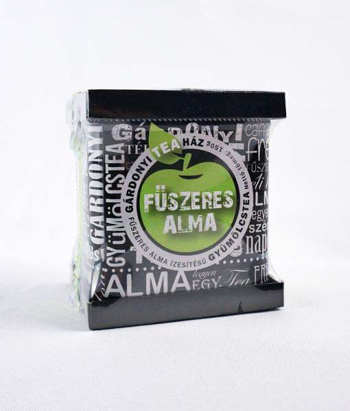 Gárdonyi Teaház fűszeres alma ízesítésű fémdobozos tea 150 g