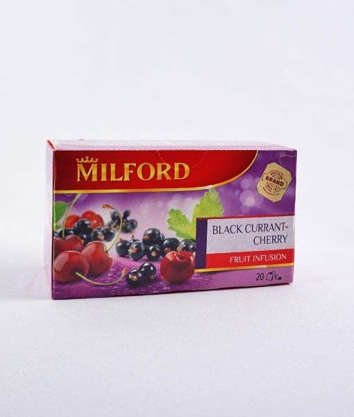 Milford Feketeribizli - Cseresznye tea 20 x 2,5 g
