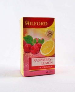 Milford Málna - Citrom ízű gyümölcstea 20 x 2,5 g
