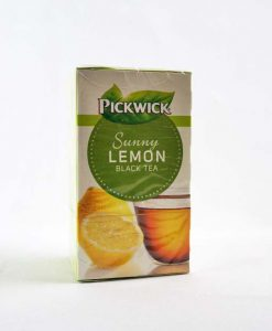Pickwick Fekete tea citrommal 20 x 1,5 g