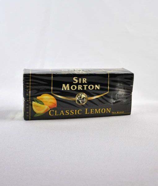 Sir Morton Classic Lemon fekete tea 20 x 1,5 g