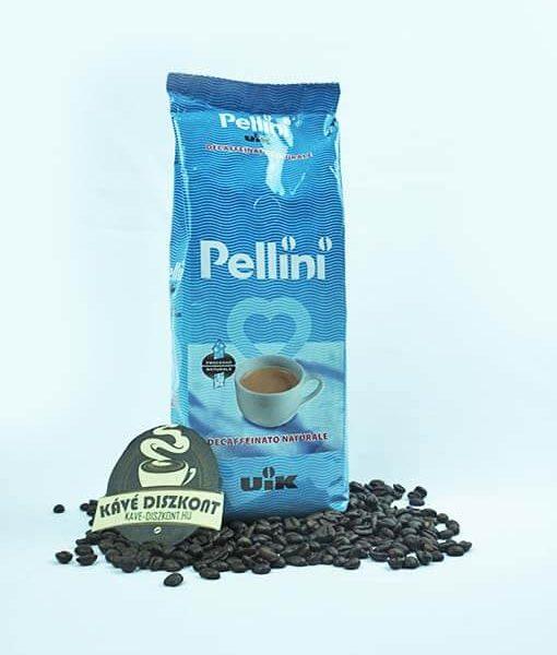 Pellini UIK koffeinmentes szemes kávé 500 g