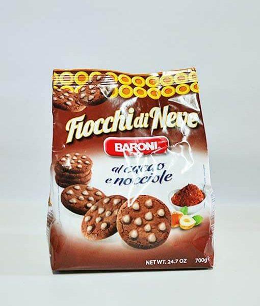 Baroni Hópelyhek kakaós - mogyorós keksz 700 g