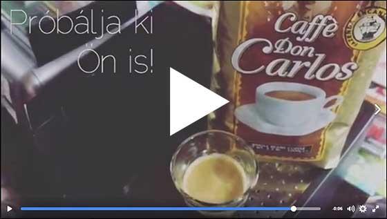 Don Carlos – szubjektív kávé teszt