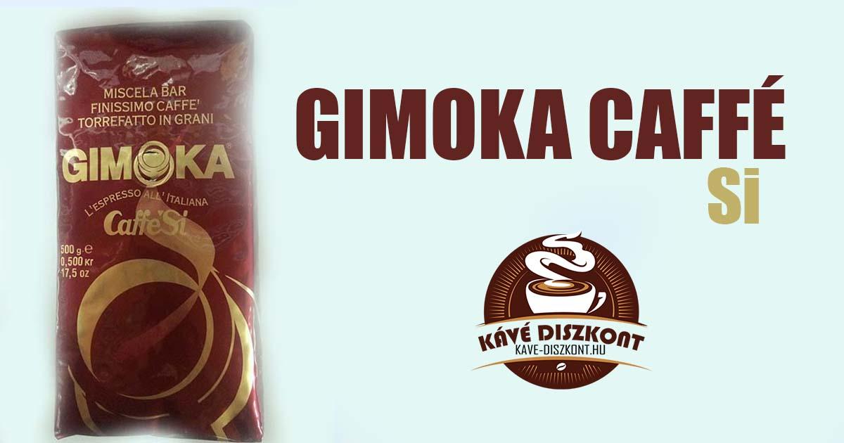 Gimoka Caffé Si kávé teszt