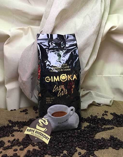 Gimoka Gran Gala szemes kávé 1 Kg