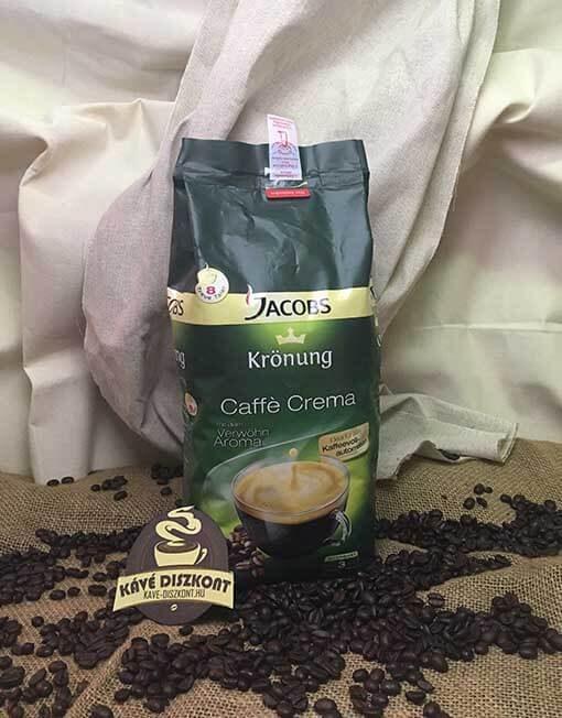 Jacobs Krönung Crema szemes kávé 1000 g