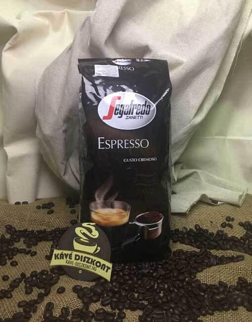 Segafredo Espresso Casa 5 x 1 Kg szemes kávé ingyenes szállítással