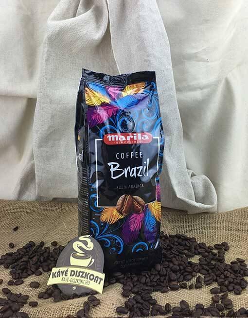 Marila Coffee Brazil szemes kávé 500 g