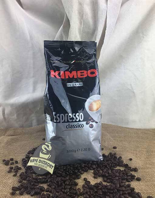 Kimbo Espresso Classico szemes kávé 1000 g (80% arabica)
