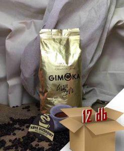 Gimoka Gran Festa szemes kávé 12 x 1 kg ingyenes szállítással