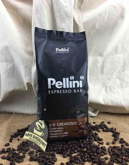Pellini N.9 Espresso Bar Cremoso szemes kávé 1000 g