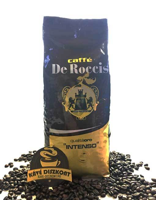 Caffé De Roccis Qualitá Oro Intenso szemes kávé 1000 g