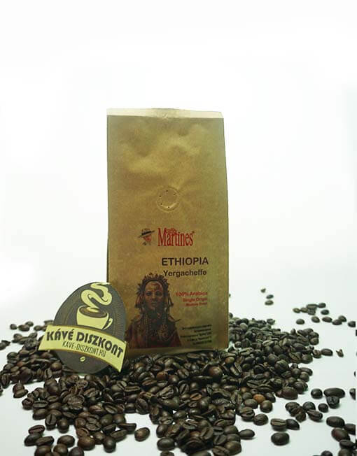Martines Single Origin - Ethiopia Yergacheffe 200 g szemes kávé