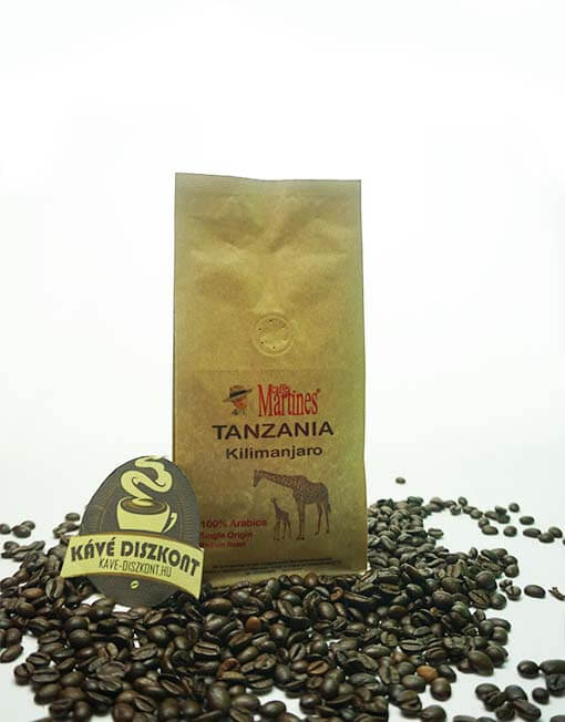 Martines Single Origin - Tanzania Kilimanjaro 200 g szemes kávé