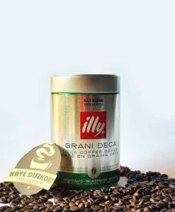 Illy Espresso Decaffeinato szemes koffeinmentes kávé 250 g
