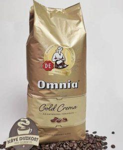 Douwe Egberts Omnia Gold Crema szemes kávé 1000 g