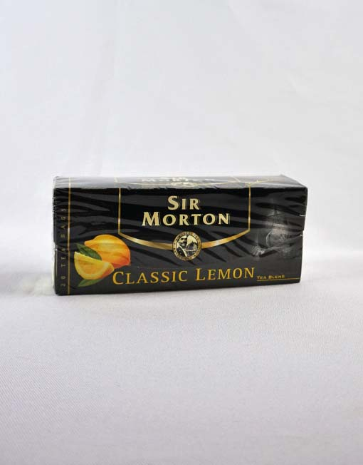 Sir Morton Classic Lemon fekete tea 20 x 1,5 g