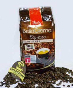 Mellitta Bella Crema Espresso szemes kávé 1000 g