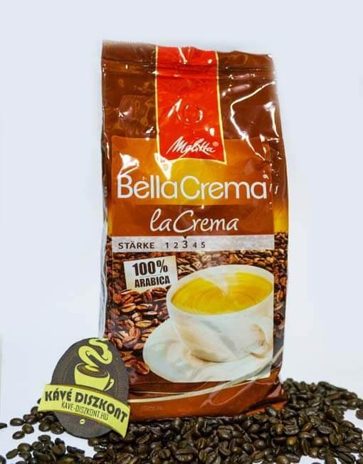 Melitta Bella Crema La Crema szemes kávé 1000 g