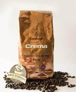 Dallmayr Crema d'Oro Selektion des Jahres Peru szemes kávé 1000 g