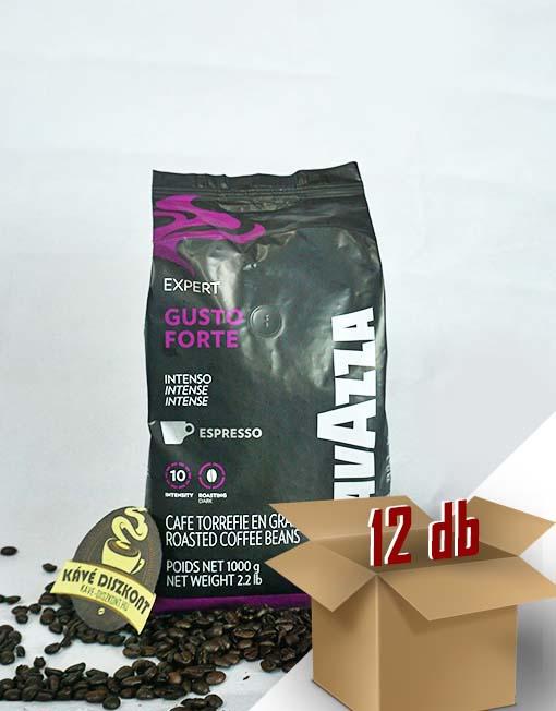 Lavazza Expert Forte szemes kávé 12 x 1000 g ingyenes szállítással