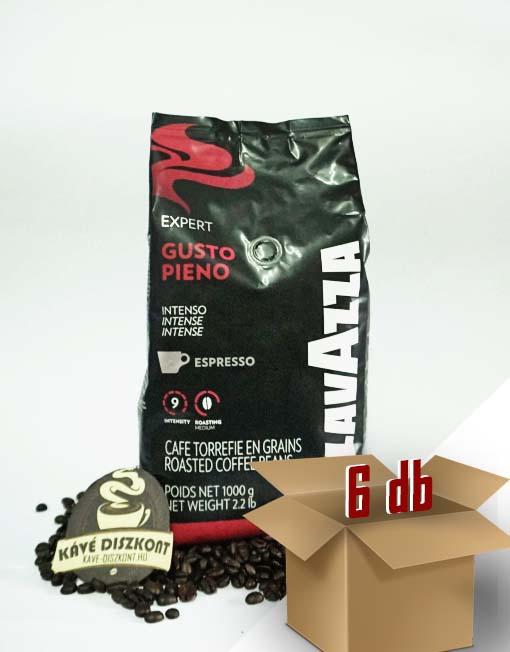 Lavazza Expert Gusto Pieno szemes kávé 6 x 1000 g