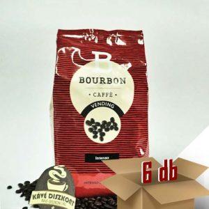 Lavazza Bourbon Intenso szemes kávé 6 x 1000 g ingyenes szállítással