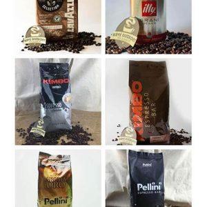 """""""First Class Olasz kirándulás"""" - 5,25 kg olasz kávé ingyenes szállítással"""