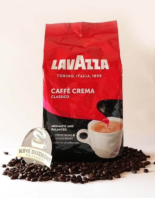 Lavazza Caffé Crema Classico szemes kávé 1000 g