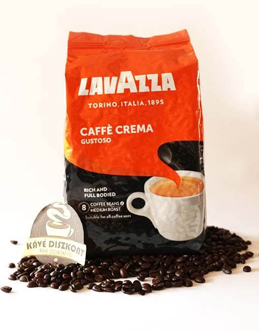 Lavazza Caffé Crema Gustoso szemes kávé 1000 g