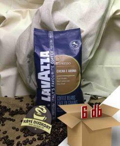 Lavazza Crema E Aroma Blue szemes kávé 6 x 1 kg