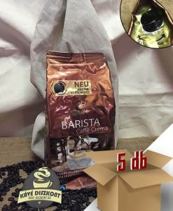 Tchibo Barista Crema szemes kávé 5 x 1000 g ingyenes szállítással