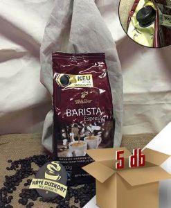 Tchibo Barista Espresso szemes kávé 5 x 1000 g ingyenes szállítással