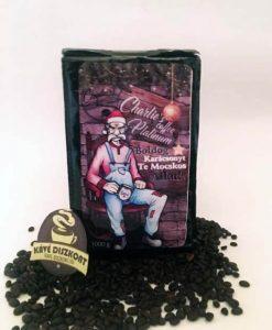 """Charlie's Coffee Platinum szemes kávé 1000 g """"Boldog Karácsonyt Te Mocskos Állat"""""""