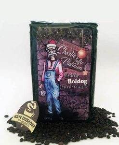 """Charlie's Coffee Platinum szemes kávé 1000 g """"Boldog, békés karácsonyt"""""""