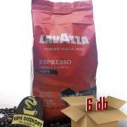 Lavazza Espresso Crema E Gusto Forte szemes kávé 6 x 1 kg