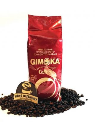 Gimoka Caffé Si Rosso szemes kávé 500 g