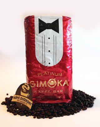 Gimoka Platinum szemes kávé 1000 g