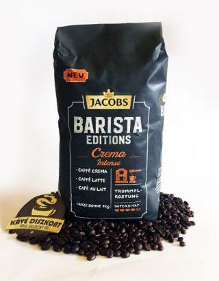 Jacobs Barista Editions Crema Intense szemes kávé 1000 g