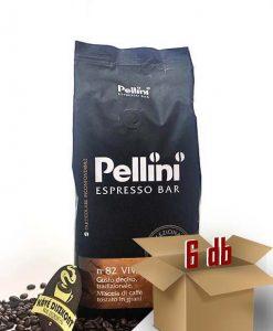 Pellini Vivace Espresso Bar szemes kávé 1000 g 6 x 1000 g
