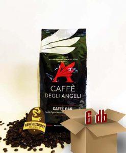 Caffé Degli Angeli szemes kávé 6 x 1000 g Ingyenes szállítással